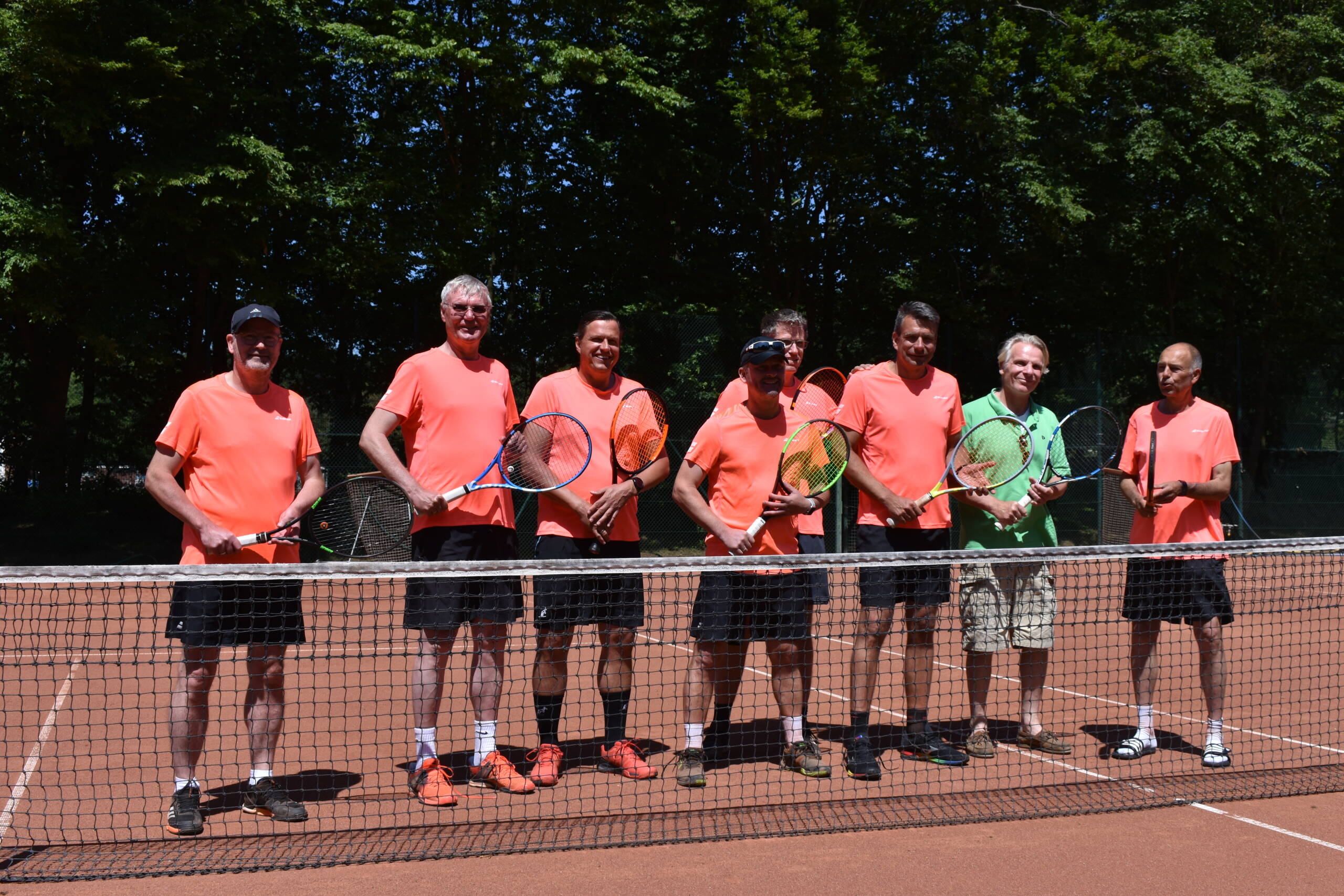 Mannschaftsbild Herren 50 - Tus Baerl Tennis e.V.